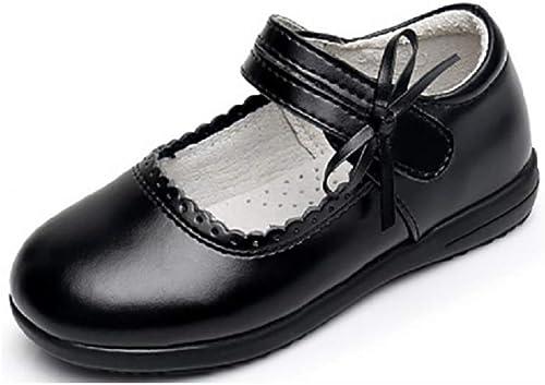 Girls Black School Shoes Size Infant 8