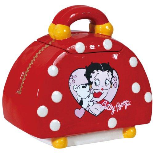 Westland Giftware Ceramic Betty Boop Handbag Cookie Jar, - Ceramic Jar Handbag Cookie