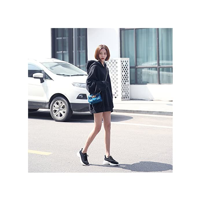 Qqwweerrtt Calze Moda Scarpe Donna Novità Primavera Sport Harajuku Wild White