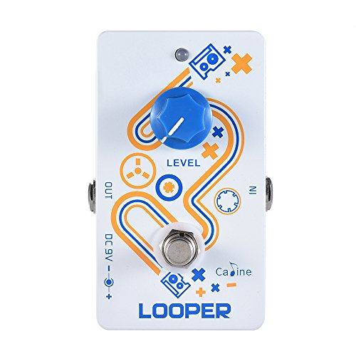 ammoon Caline LOOPER Guitar Loop Pedal 10 Minutes Recording Time Unlimited Overdub with True Bypass