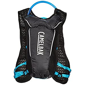 CamelBak Circuit Crux Reservoir Hydration Vest, Black/Atomic Blue, 1.5 L/50 oz