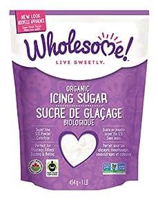 Wholesome Sweeteners, Powdered Sugar, Fair Trade Organic, 1 lb
