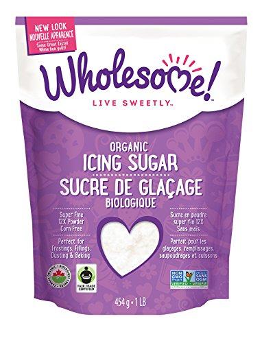Fat Free Organic Cookies (Wholesome Sweeteners, Powdered Sugar, Fair Trade Organic, 1 lb)