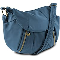 Travelon Anti-Theft Front Zip Hobo Bag