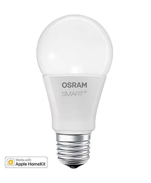 Osram Smart + Apple homekit Classic A RGBW, LED Bombilla En Forma De La Bombilla, control del color y regulable mediante Apple homekit, equivalentes a 60 W, ...
