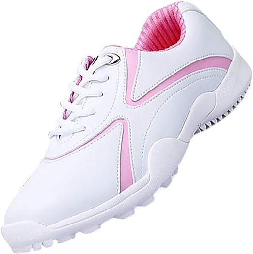 WOIQ Zapatos de Golf Zapatos de Golf Antideslizantes ...