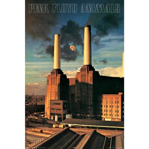 pink floyd animals music poster