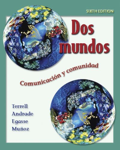 Dos mundos Student Edition with Online Learning Center Bind-in Passcode (McGraw-Hill World Languages) (Spanish Edition) by McGraw-Hill Humanities/Social Sciences/Languages