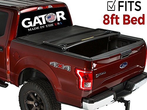 Gator ETX Soft Tri-Fold Truck Bed Tonneau Cover | 59106 | fits Chevy/GMC Silverado/Sierra 1999-06, 07 Classic (8 ft bed) incl HD