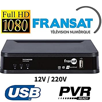 TK30 - demodulateur Satellite Fransat HD Camping Car 12 V ...