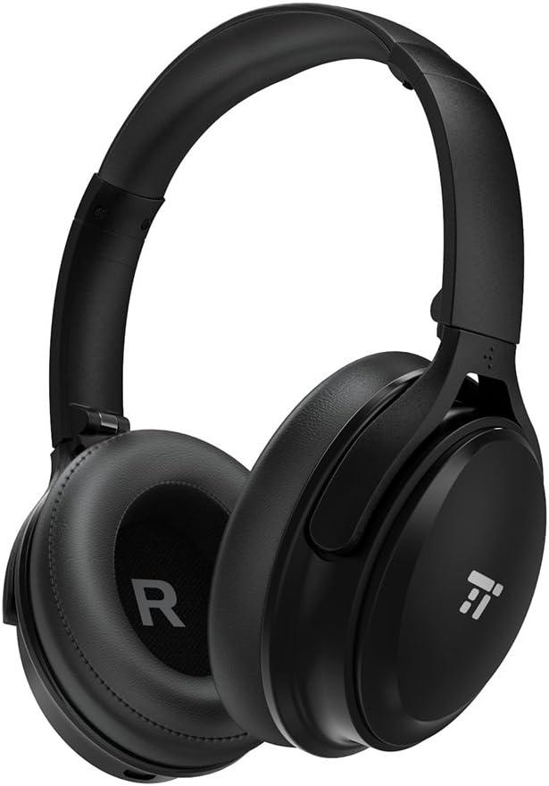 TaoTronics Cuffie Bluetooth 5.0 Senza Fili Over-Ear 45 Ore Riproduzione