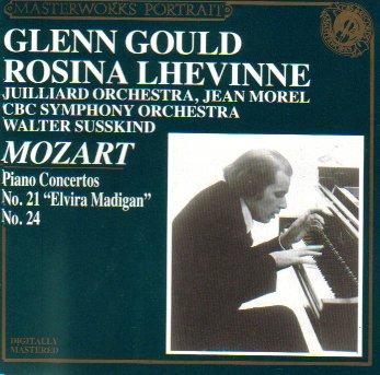 """Mozart: Piano Concerto No. 21 """"Elvira Madigan"""", Piano Concerto No. 24"""