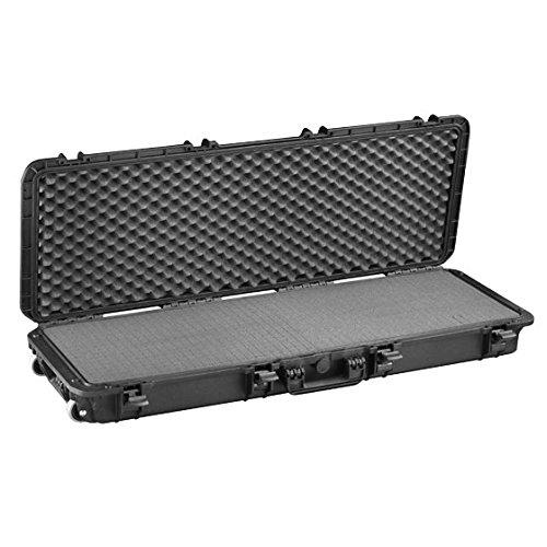 MAX Cases IP67 Cert Waterproof & Dustproof Case with Customizable Foam, Black, MAX1100S