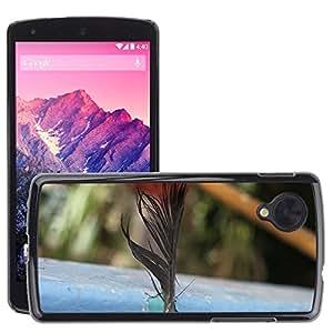 Print Motif Coque de protection Case Cover // M00127194 Aves pluma Ave // LG Nexus 5