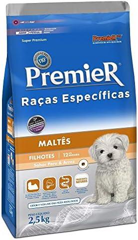 Ração para Cães Filhotes Premier Maltês 2,5Kg
