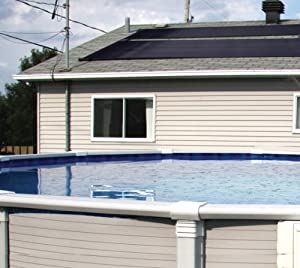 2X20' SunQuest Solar Swimming Pool Heater Complete System with Roof Kits by SunSolar