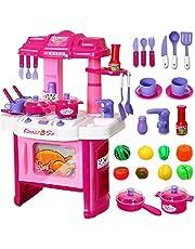 عدة مطبخ كبيرة للاطفال للعب