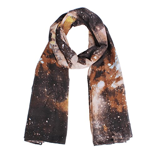 Lightweight Scarfs for Women Nebula Galaxy little Twinkle Stars Print Fashion Scarf - Real So It Is