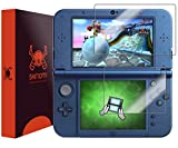 Nintendo 3DS XL Screen Protector (Nintendo 3DS LL,2015), Skinomi® TechSkin Full Coverage Screen Protector for Nintendo 3DS XL Clear HD Anti-Bubble Film