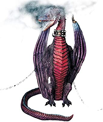 BACK FROM THE GRAVE Fire Breathing Dragon Animatronic Prop