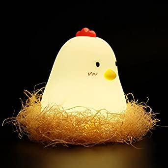 ADCorner WAKE UP Chicken lamp alarm clock night light lamp Chicken ...