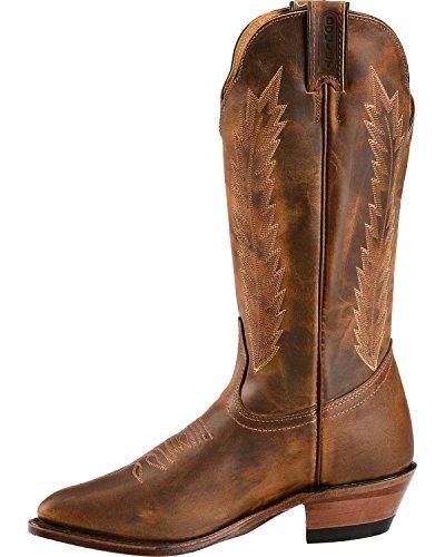 Boulet Kvinners Lyst Sydd Cowgirl Boot - 9026 Golden