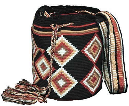 Handmade Wayuu Mochila Shoulder Bag
