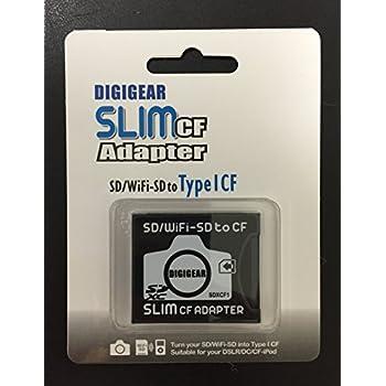Amazon.com: ESDCFII: Extreme MMC, SDHC, SD to CF Type II ...