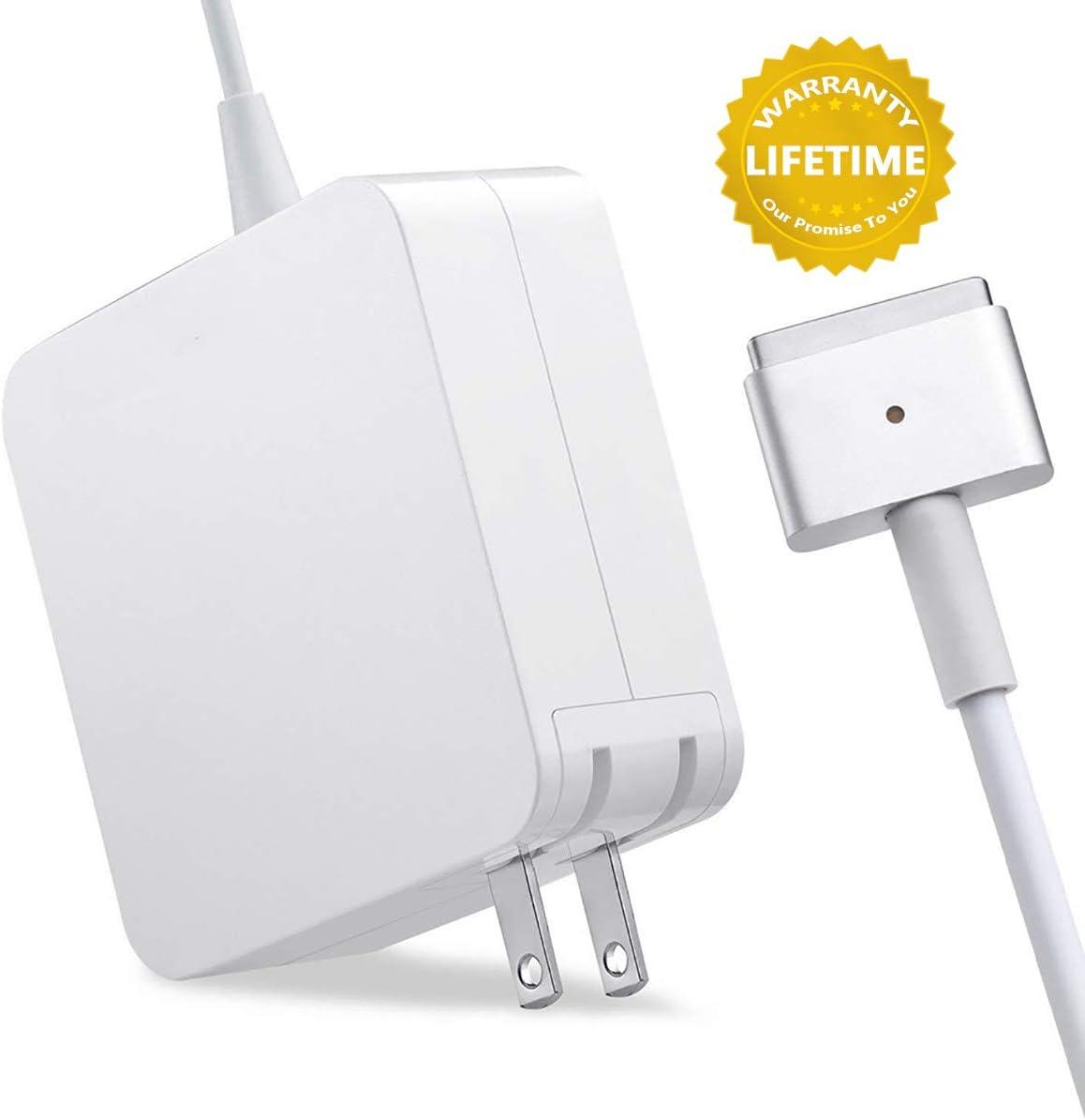 Mac Book Air Charger, Ac 45w 2 (T-Tip) Connector Power Adapter Charger for Mac Book Air 11-inch and 13 inch