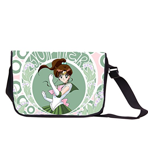 YOYOSHome Sailor Moon Anime Tsukino Usagi Luna Cosplay Messenger Bag Backpack Shoulder Bag ()