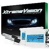 2006 audi a6 ac hid 55 watts - XtremeVision AC 55W HID Xenon Conversion Kit with Premium Slim Ballast - H1 6000K - Light Blue - 2 Year Warranty