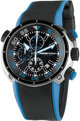 Momo Design Diver Pro Quartz watch, Stainless Steel 316L, Chronograph, 45mm.