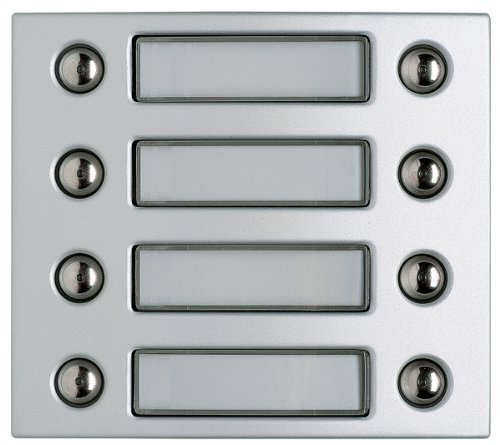 Legrand 332481 Door Entry Panel Cover Button Modules 8 Buttons Aluminium by Legrand