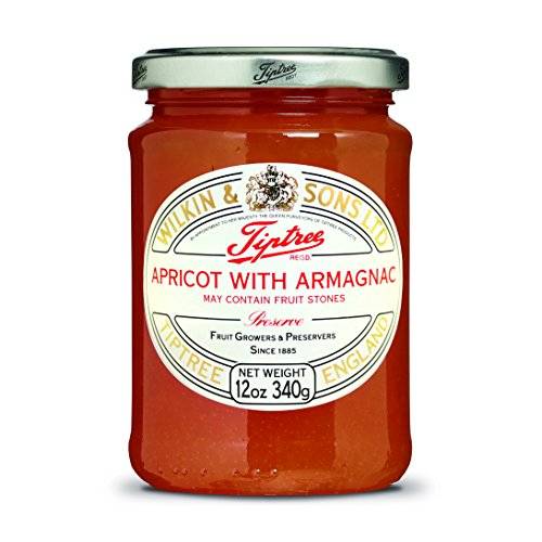 Tiptree Apricot & Armagnac Preserve, 12 Ounce Jars (Pack of 6) by Tiptree