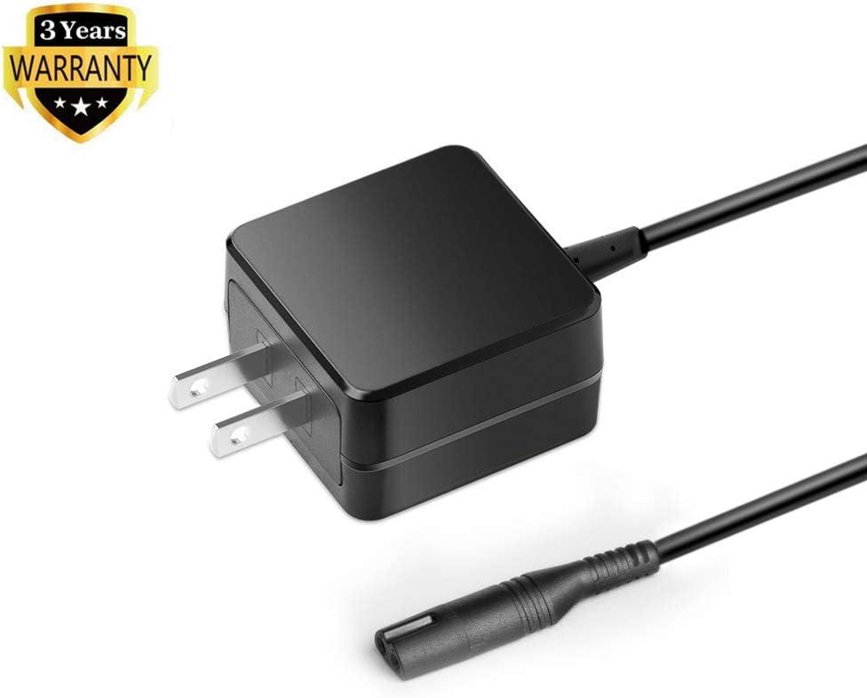 HKY 12V AC Adapter Charger Compatible Braun Series 7 9 3 5 1 Electric-Razor-Shaver 350cc-4 390cc 3040s 760cc 790cc 740s 720s-4 190s 340s 370 720 5190cc 5210 7865cc 9090cc 9093 9095cc Power Supply Cord