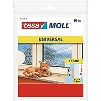 TESA 05454-00100-00 05454-00100-00-Burlete de espuma-10m x 15mm Blanca