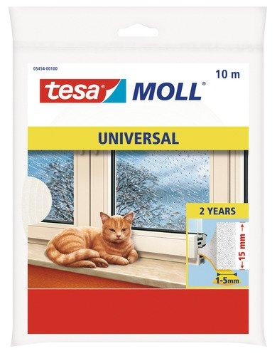 Tesa-Moll Universal Abdicht-Schaumstoff 10 m wei/ß 15 mm breit