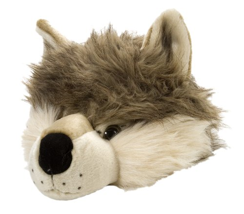 Wild Republic Wolf Plush Hat, Gifts for Kids, dress up, costume