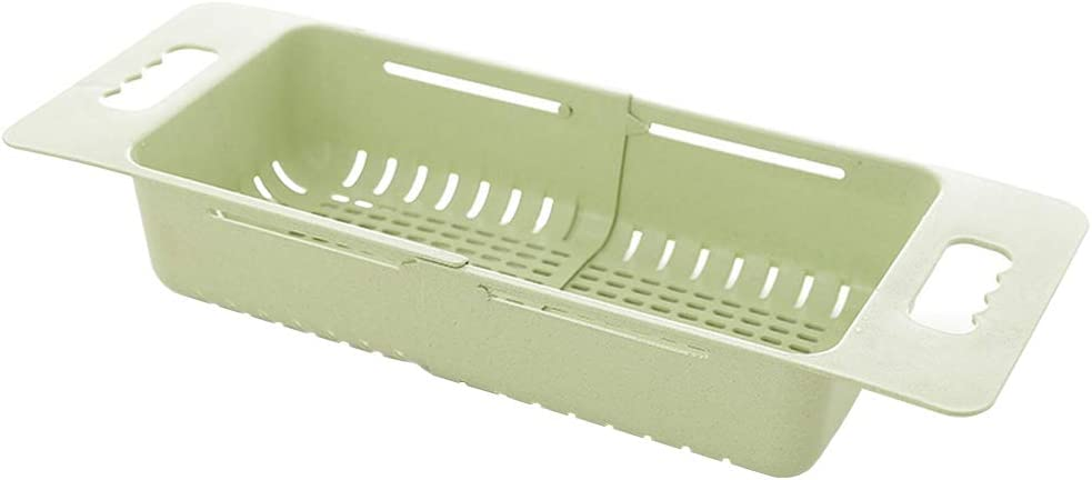 Dish Drying Rack Dish Drainer Over the Sink Large (Green.)