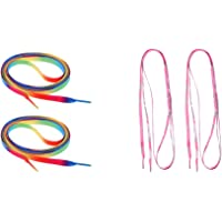 D DOLITY 2 Pair 180cm Outdoor Sports Shoelace Strings for Roller Skates
