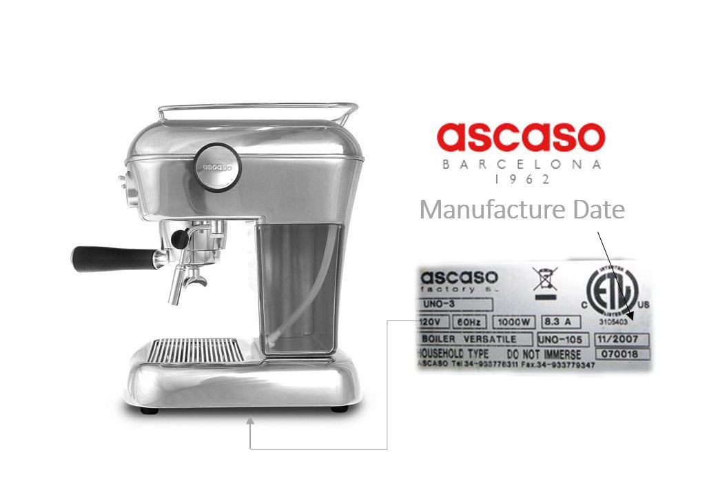 Convertidor de café molido Ascaso: Amazon.es: Hogar