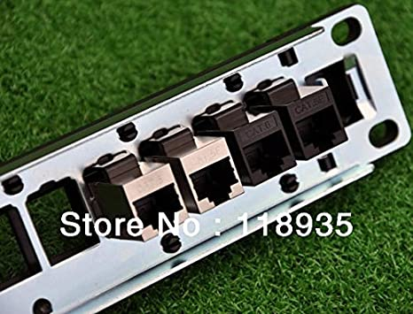 Cable Length: 24pcs Computer Cables Yoton RJ45 Cat.6 Inline Female Adapter Coupler unshielded Adapter for Blank Patch Panel