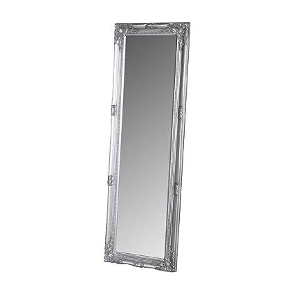 e38ee3edc0e9 Melody Maison Tall Silver Ornate Mirror 47cm x 142cm  Amazon.co.uk  Kitchen    Home