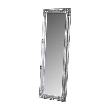 Melody Maison Miroir à Cadre Argent ornementé Grand Format  Amazon ... 145f357a394c