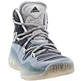 adidas Men's Crazy Explosive Basketball Shoes, MGH Solid Grey/White/Black 1, ((11 M US)