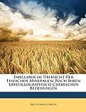 Tabellarische Ãœbersicht der Einfachen Mineralien, Paul Heinrich Groth, 1148521402