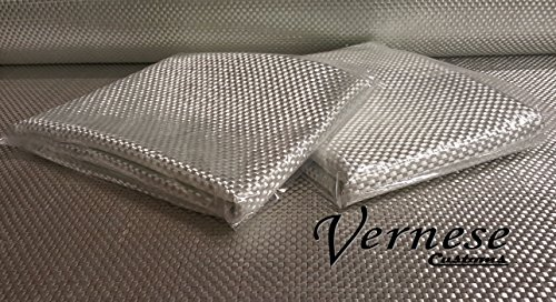 Fiberglass, 24 Oz. Woven Roving, 25'' x 360'' (10 Yards) 62.5 Sq.Ft. by Vernese Customs