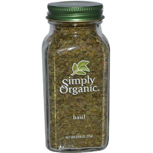 SIMPLY ORGANIC SSNNG BASIL ORG BTTL, 0.54 OZ by Simply Organic