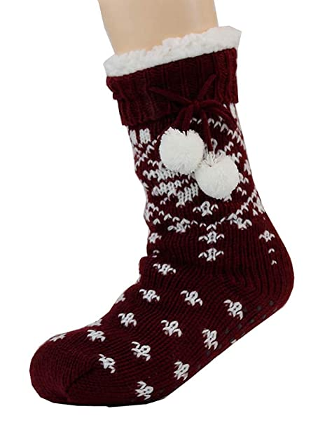 Black Temptation Calcetines gruesos de lana para piso Doble engrosamiento más calcetines de terciopelo, G5: Amazon.es: Ropa y accesorios