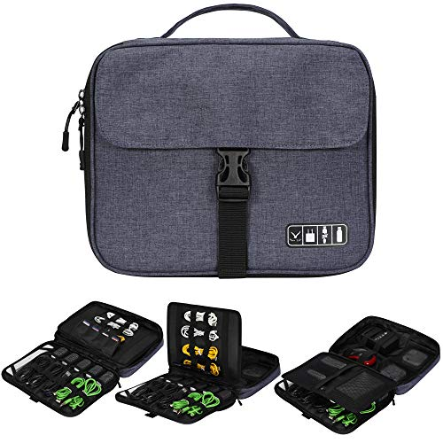 Hynes Eagle Multilayer Electronic Organizer Bag -